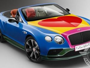 Unique coloured bentley